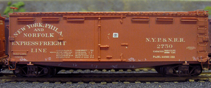Harold's Pennsylvania Railroad Box Cars