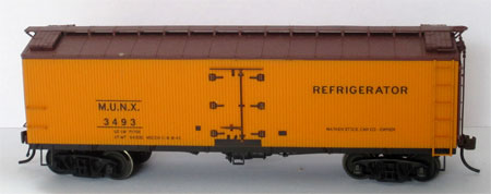 Red Caboose Mather refrigerator car