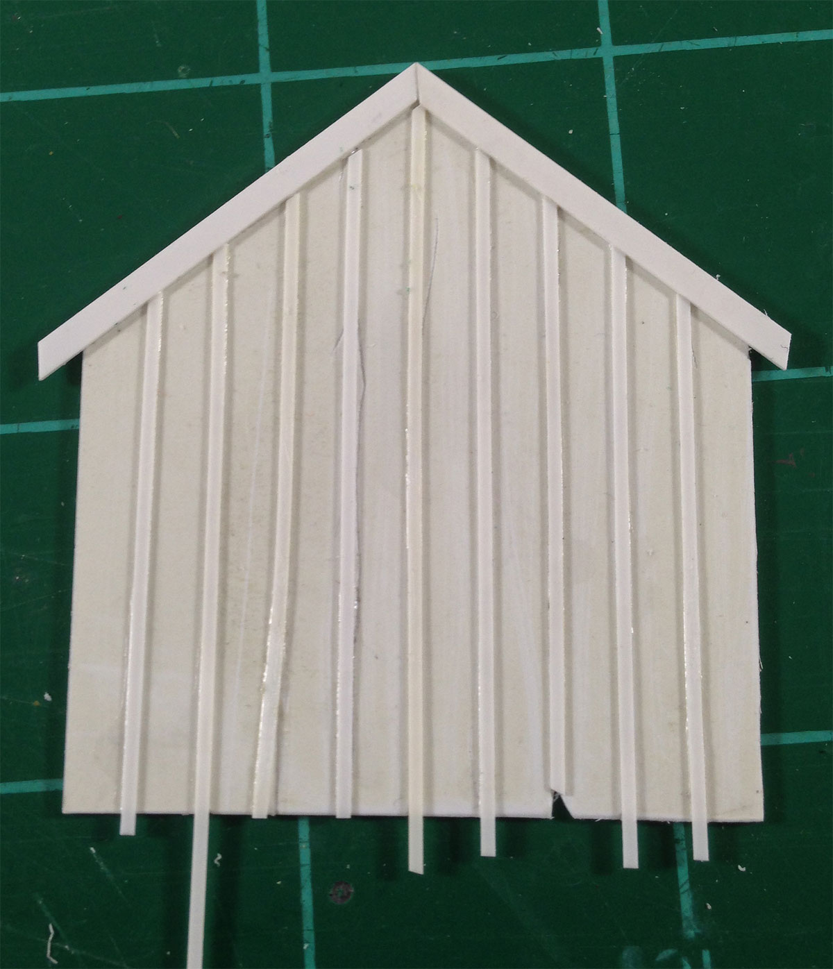 Scratchbuilding a Shed | Notes on Designing, Building, and Operating ...