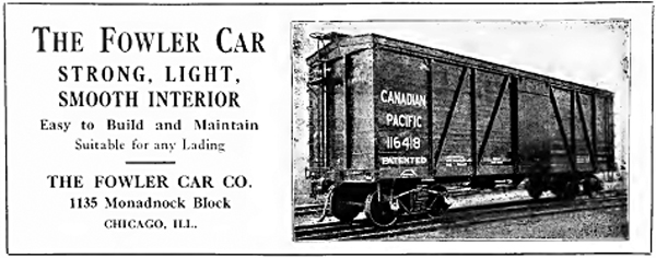 1916 Fowler Car Company ad